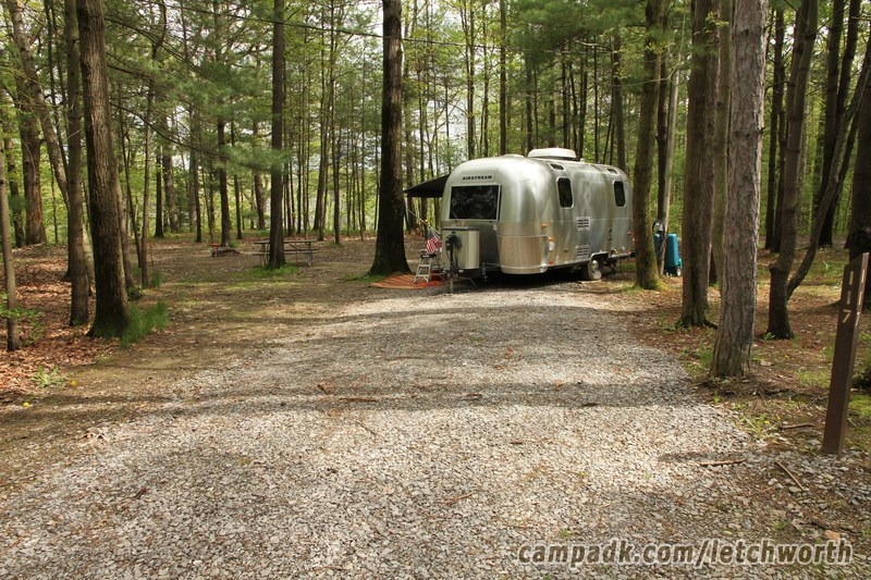 Letchworth State Park Campsite Photos