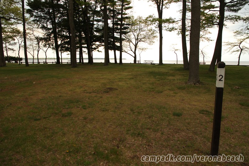 Campsite Photo Of Site 2 At Verona Beach State Park New York Looking