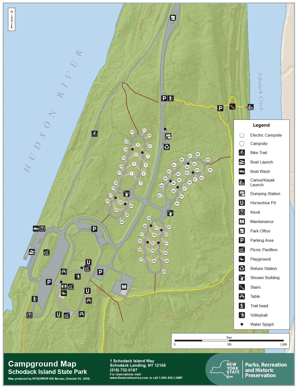Schodack Island Campsite Reviews